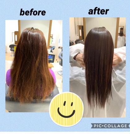 髪質改善ボトメントトリートメント+カット