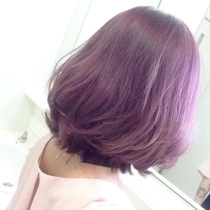 パープルピンク Hair kitchen所属・ishidatatsuhiroのスタイル