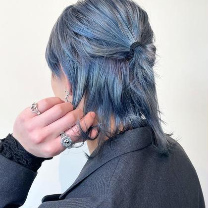 [🕊パーソナルカラー診断付き🕊]ケアブリーチ + フルカラー + 極潤トリートメント + 前髪カット