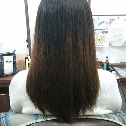 """丸みのあるナチュラルモテロング◎ hair&makesmoos""""北千住所属・大川戸美鈴のスタイル"""