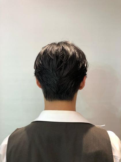 メンズ バッサリカット大人なスタイル(^^)