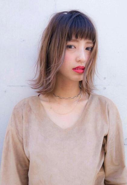 ☆【minimo限定】☆前髪カット+コテ巻きスタイリング