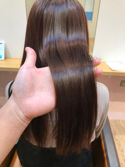 新導入☆毛髪強度回復140%TOKIOトリートメント+縮毛矯正