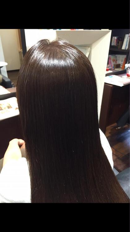 ツヤツヤの縮毛矯正 iNSYO     hair lounge所属・石井ひとみのスタイル
