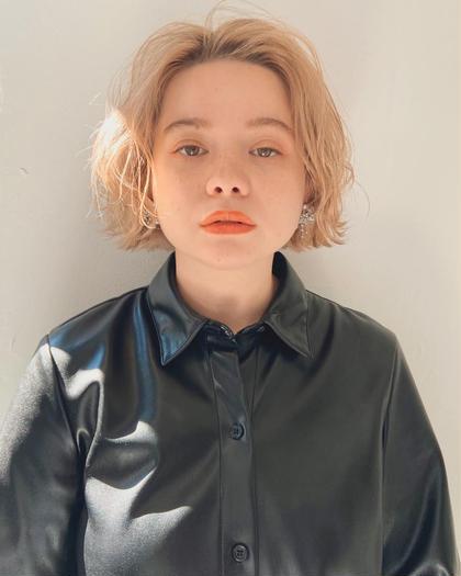 ✨似合わせカット+ブリーチカラー+髪質改善トリートメント✨