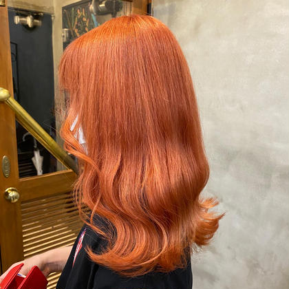 落ち オレンジ カラー 色
