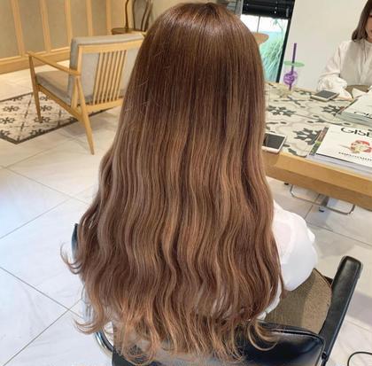 特別set❤️🐄👾ケアブリーチ➕カラー➕枝毛ダメージレスカット➕前髪カット➕カラーケアトリートメント
