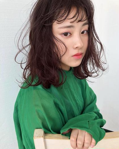 LUKE所属のrumiのヘアカタログ