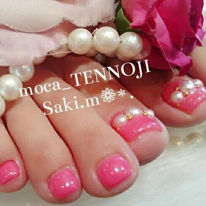 ピンクと大きめパールでキュートな印象に♡ moca天王寺店所属・宮本紗希のフォト