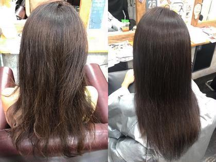 💎ダメージ毛だけど広がりが気になる方💎ダメージレスで艶と潤いの仕上がり!縮毛矯正➕ミストトリートメント