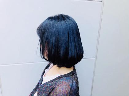 【⭐️就活生応援⭐️】黒染めカラー & トリートメント📣