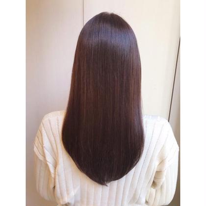 🍊広がりが気になる方✨ナチュラルな縮毛矯正+カット+補修トリートメント🍊