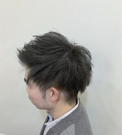 カラー ショート メンズ cut / wcolor / greige✂︎