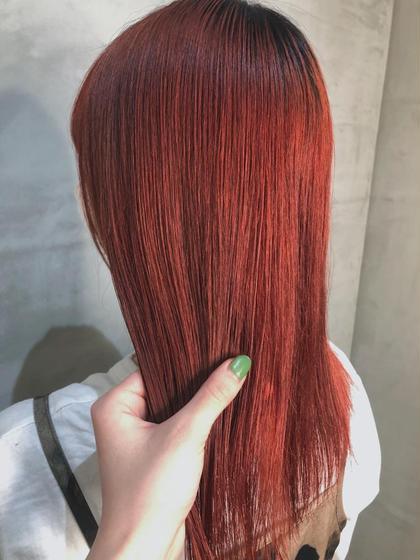 🥭イメージチェンジしたい方🥭カット + ダブルカラー(髪質改善サイエンスアクア入り)+ 2stepトリートメント