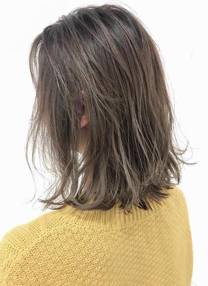 ✨外国人グラデーション✨透明感カラー&トレンド前髪カット+集中ケアトリートメント✨