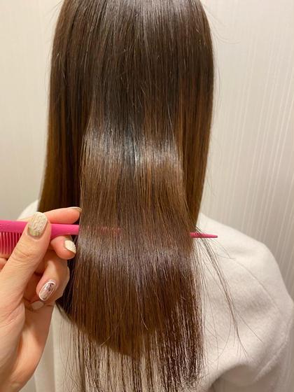 ✅NEW✅【うねり・広がりに】髪質改善ストレート+カット+保湿ケアTR