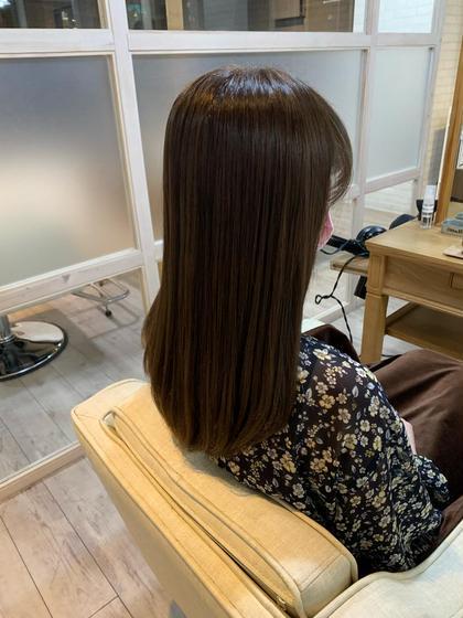 カット+カラー+(髪質改善)資生堂サブリミック酸熱トリートメント