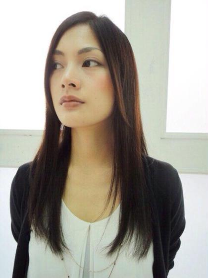 縮毛矯正お任せください^_^ villgae所属・平田康展代表のスタイル