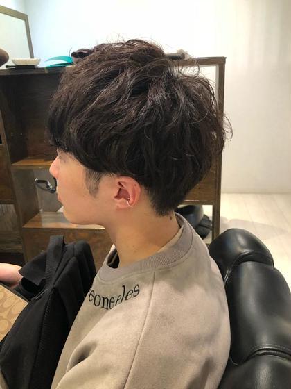 男性限定!! カット+顔剃り