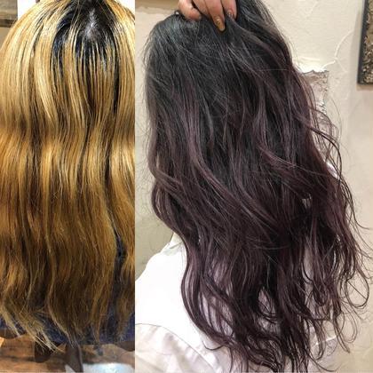 ダブルカラー、グラデーションカラー、バレイヤージュ HAIR DESIGN chambord所属・菰田真希のスタイル