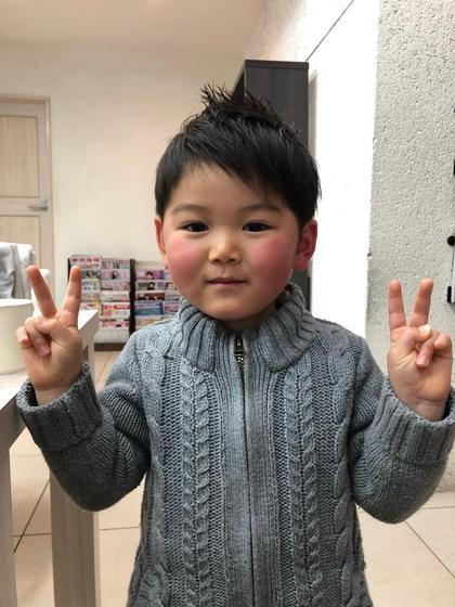 kidsカットも承ります‼️ 可愛くカッコよくカットしませんか⁉️ kidsカットの場合はカット¥1,728にて承ります‼️ Produce所属・丹内健太郎のスタイル