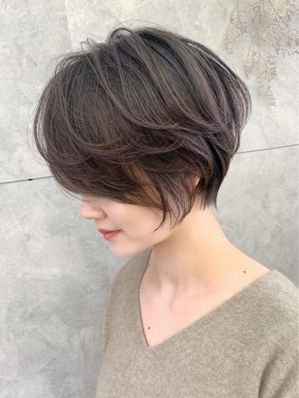🌸カット+【髪質改善】Aujuaトリートメント🌸