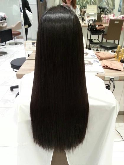 カット&サラサラ縮毛矯正⭐︎ダメージレス縮毛矯正!ダメージ毛にも対応できます!ご相談ください!