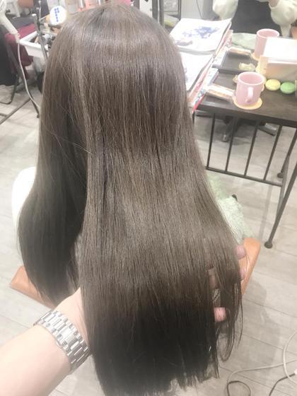 ブリーチなしで赤みを抑えたグレージュカラー(^^) トップスタイリストSegawaのヘアスタイル・ヘアカタログ