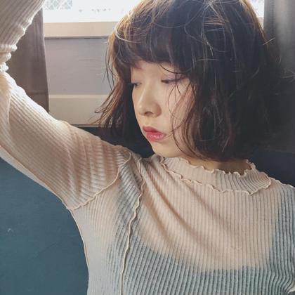 朝が楽に♡前髪カット&前髪パーマ