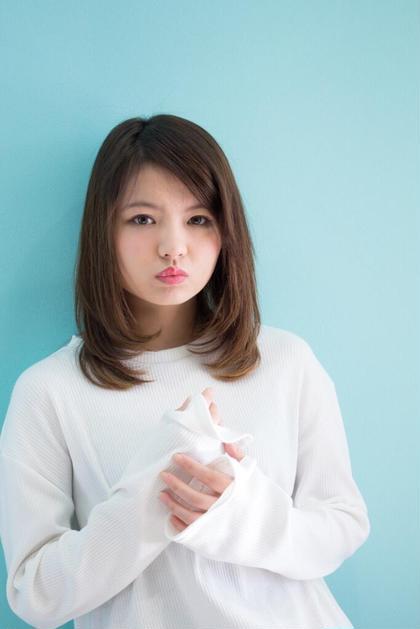 Agu  Hair mire 高円寺所属・稲毛俊輔のスタイル
