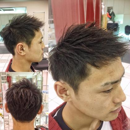 立ち上げショート HAIR DESIGN  INFINI (アンフィニー)所属・関口裕貴のスタイル