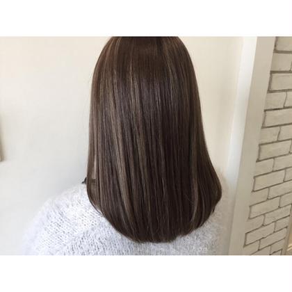 ハイライト×グレージュカラーで外国人風style☆ ietto所属・中野美菜子のスタイル