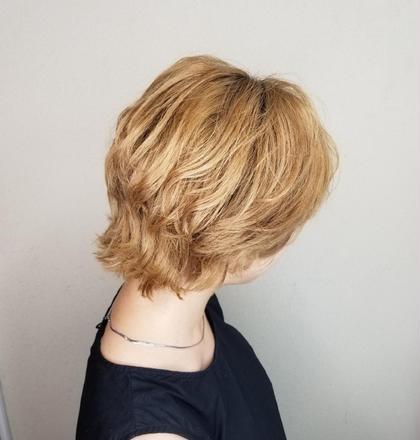 【再来】カット+カラー(髪質改善トリートメント付き)