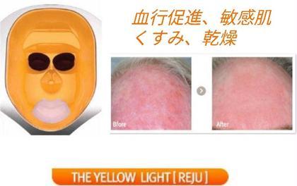 リタイム(美顔器)色別効果→オレンジ照射時間6分 血行とリンパの流れをスムーズにし、くすみやクマのお手入れに!