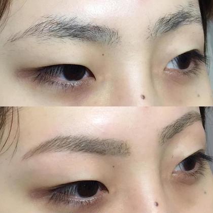 眉のお手入れが苦手な方、一度の施術でとても綺麗になります! beautygarden所属・湯浅恵のフォト
