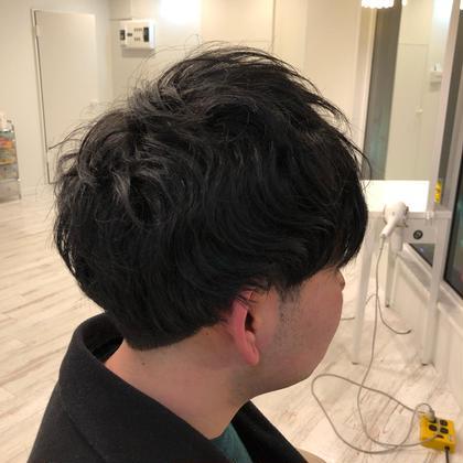くせ毛を生かしたアンニュイなマッシュも得意です😀 NO3所属・矢ヶ崎航平のスタイル