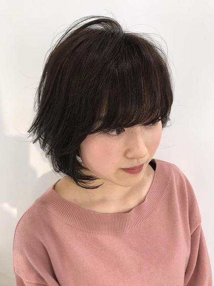 口コミNo.1トップスタイリスト宇塚大祐のミディアムのヘアスタイル