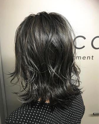 カラー ショート highlight.ash✂︎