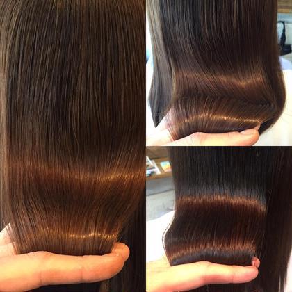 人気No3❤︎クセ毛が気になる方へ❤︎ダメージを抑えたプレミアム縮毛矯正&似合わせカット