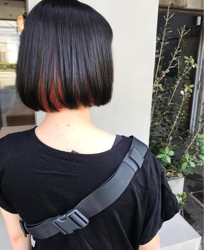 〘新規限定🌟〙インナーカラー+カット+ダメージ予防トリートメント🦕⋆͛