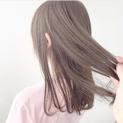 💜8月限定💜✨ダブルカラー(ブリーチ1回&カラー)(グラデーションorインナーカラー可)➕髪質改善トリートメント✨
