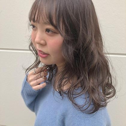 【新規学生限定】カット & アディクシーケアカラー #アオハル