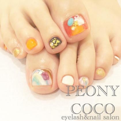 Footの場合+¥1000☆  有料パーツ ¥100~ PEONYCOCO所属・大西南帆のフォト