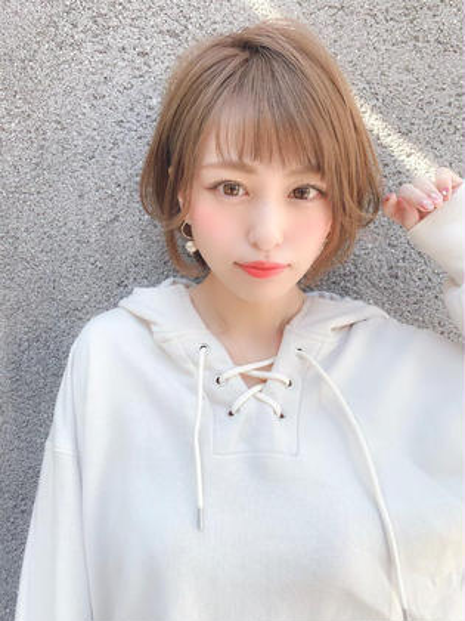 💜新生活応援キャンペーン💜似合わせ前髪カット➕透明感カラー➕うる艶トリートメント✨