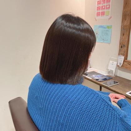 1日1名限定【ショート】艶髪美髪矯正コース(カット有り)