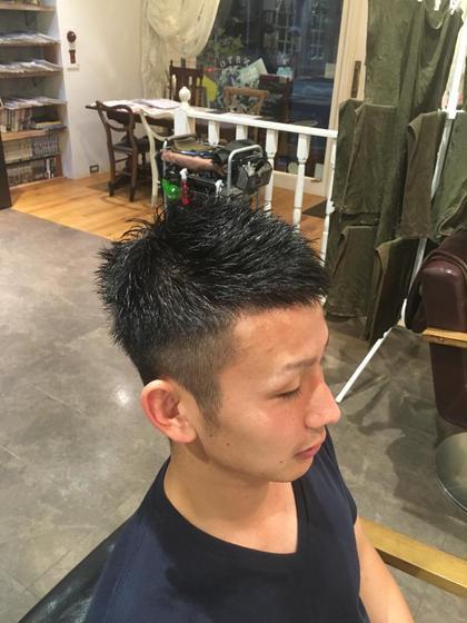 メンズカット insyo  hair lounge  中山駅本店所属・山田俊佑のスタイル