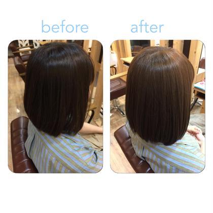 カラー+髪質改善トリートメント✨✨