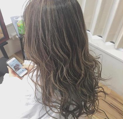 highlight color + 潤艶 treatment