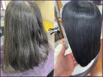 🔴髪質改善カラーコース🔴透明感カラー×プレミアムトリートメント『サイエンスアクア』