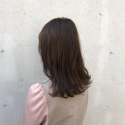💎ダメージレス、透明感、艶髪💎イルミナカラー + Reオリジナル色持ちトリートメント